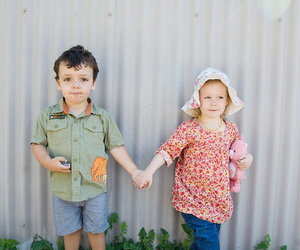twins, clover devine, and cute image