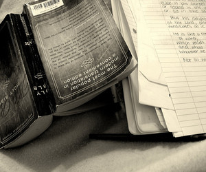 bible, exam, and project 366 2008 image