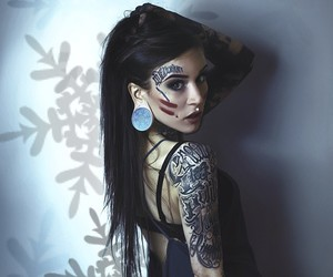 tattoo, monami frost, and black image