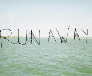runaway, sea, and text image