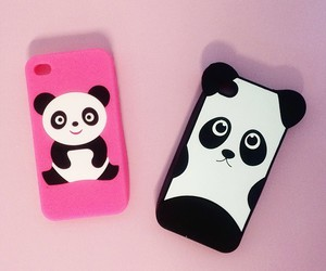 iphone and panda image