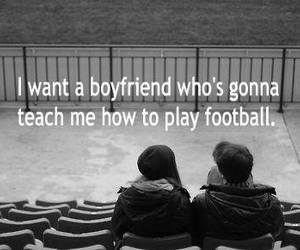 boyfriend, couples, and football image