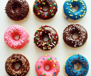 donuts, delicious, and doughnuts image