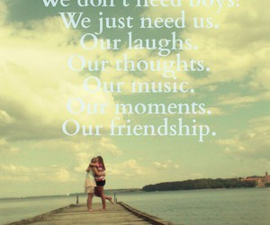 friendship, girls, and qoutes image