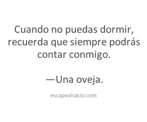 oveja, frases, and dormir image