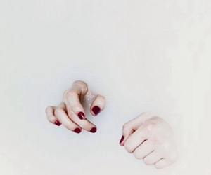 hands and grunge image