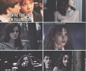 harry potter, hermione granger, and couple image