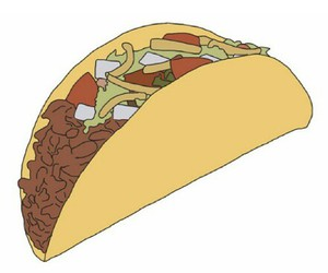 tacos, overlay, and transparent image