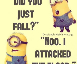 minions, funny, and lol image