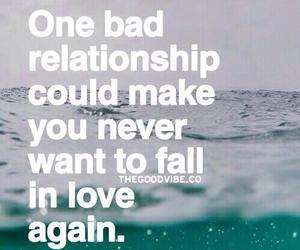 Relationship, bad, and love image