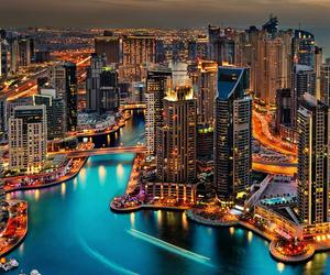 light and city image