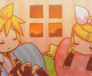 anime, rin kagamine, and vocaloid image
