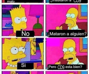bart, los simpson, and cd9 image