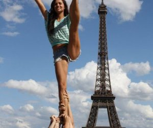 paris, girl, and cheer image