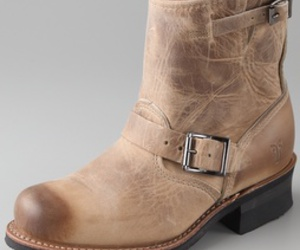 boots, engineer, and frye image