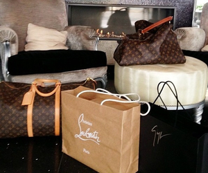 luxury, Louis Vuitton, and louboutin image