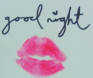 good night kiss image