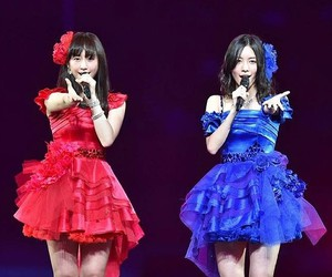 blue, red, and matsui jurina image