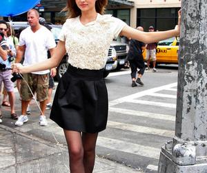 black skirt, miranda, and vs image