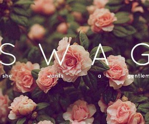 swag, flowers, and gentleman image