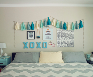 bedroom, room, and xoxo image