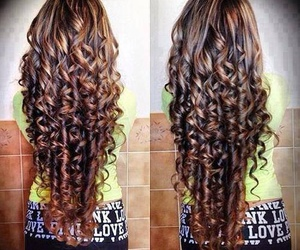 hair, curls, and curly image