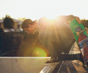 skate, boy, and vans image
