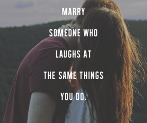 love, quote, and marry image