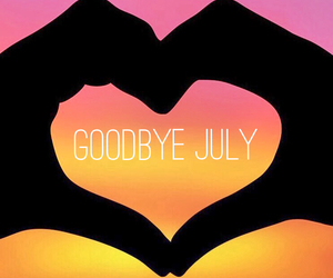 August, goodbye, and bye image