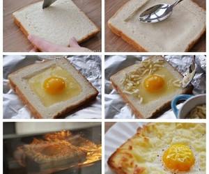 food, egg, and diy image