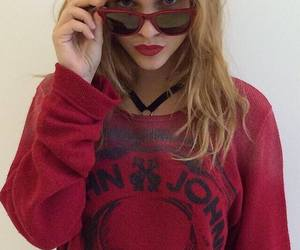 barbara palvin, model, and red image