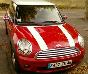 london, mini cooper, and voiture image