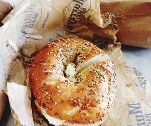 food and bagel image