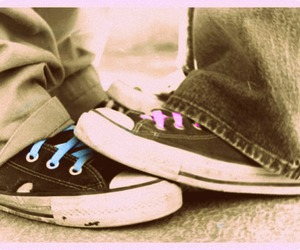 converse, love, and all star image