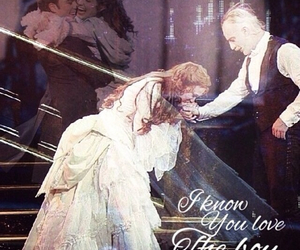 sierra boggess, raoul, and ramin karimloo image