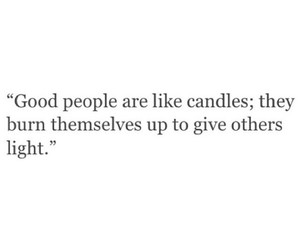 quote, candle, and light image