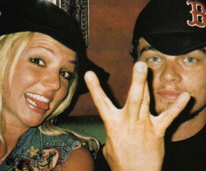 britney spears and leonardo dicaprio image