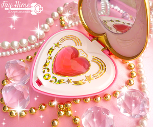 heart, merchandise, and sailor moon image