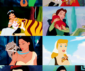disney, animal, and princess image