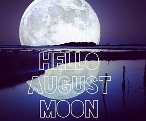 hello and moon image