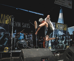 bands, jump, and warped tour image