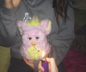 grunge, pale, and furby image