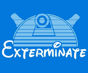 disney, doctor who, and exterminate image