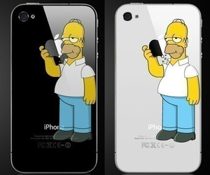 cover, homer, and funny image
