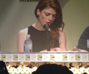 game of thrones, rose leslie, and comic con 2014 image