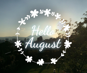 August and new image