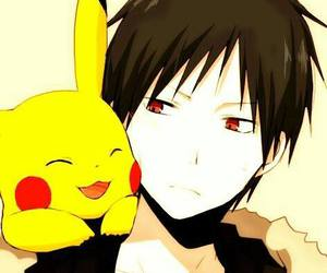 durarara, anime, and pikachu image