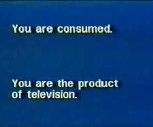 television, consume, and product image