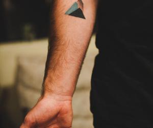 tattoo, triangle, and boy image
