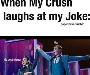 crush, joke, and funny image